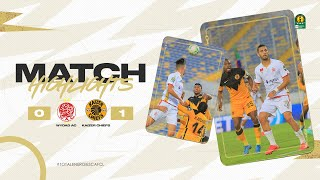HIGHLIGHTS   Wydad AC 0 - 1 Kaizer Chiefs   #TotalEnergiesCAFCL