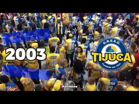 Unidos da Tijuca 2003 - Bateria - Salgueiro Convida