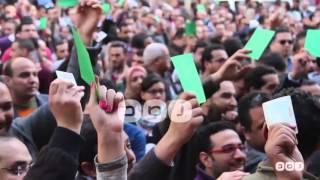 رصد | تغطية خاصة لمظاهرات الأطباء أمام النقابة اليوم