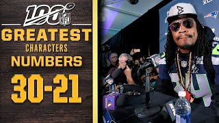 100 Greatest Characters: Numbers 30-21 | NFL 100