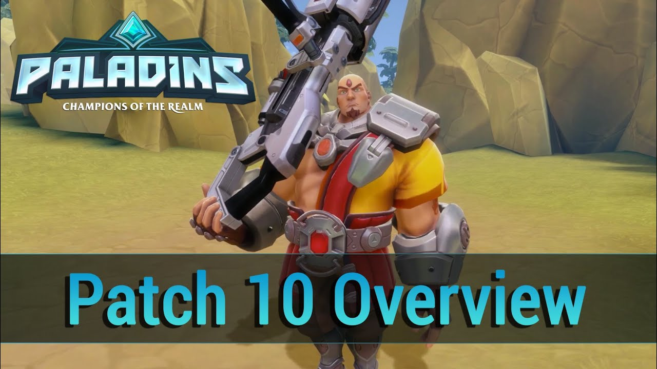 Paladins Beta Patch Overview 10 | OnRPG