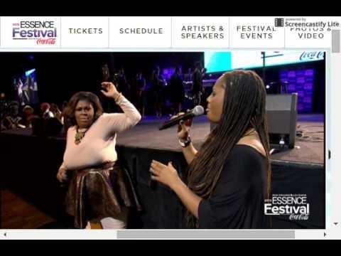 Lalah Hathaway mic toss Kim Burrell tribute.webm
