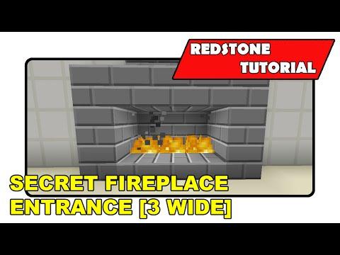 Secret Fireplace Entrance [3 Wide]