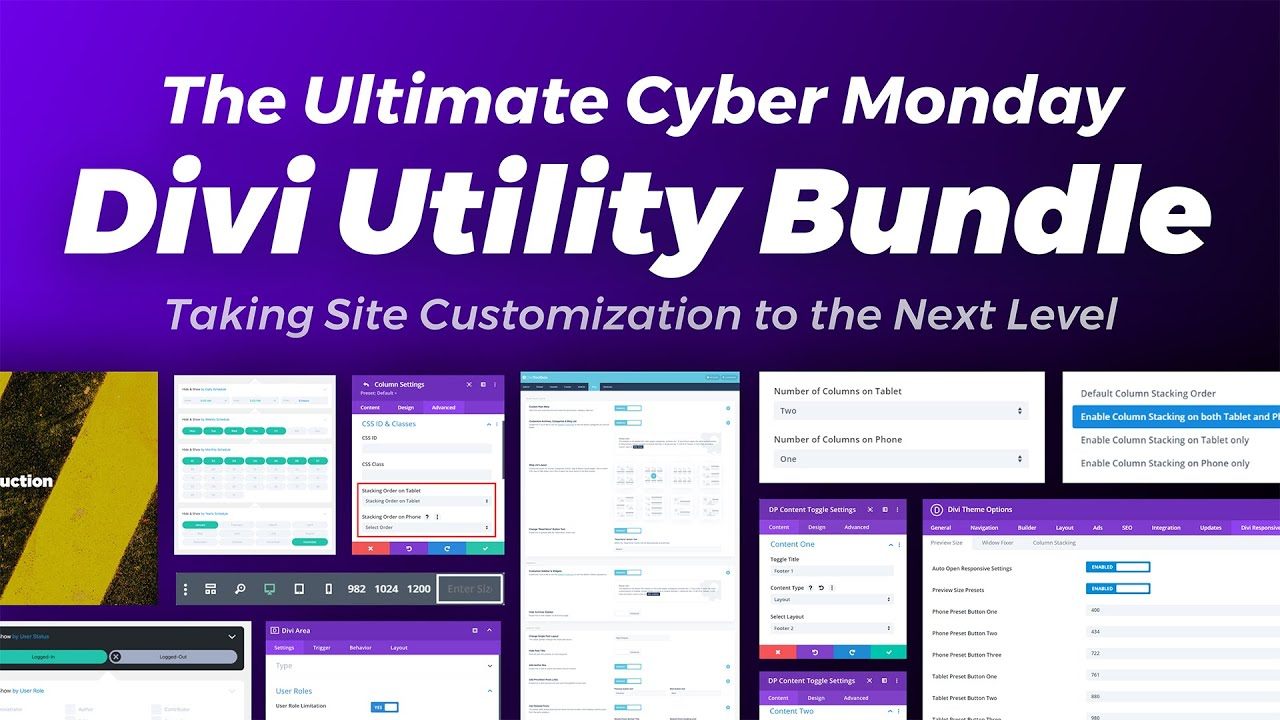 """Get the Ultimate """"Divi Utility Kit"""" from the Marketplace"""