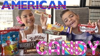 Trying American Candy | Grace's Room