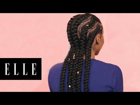 Spiral Braids for Natural Hair | ELLE