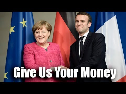 "France & Germany Tell Europe: ""Take Refugees Or Pay Us!"" European Union Of Macron & Merkel."