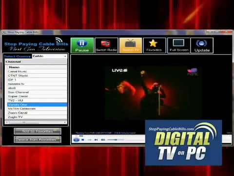 FREE DITAL TV FOR YOUR PC
