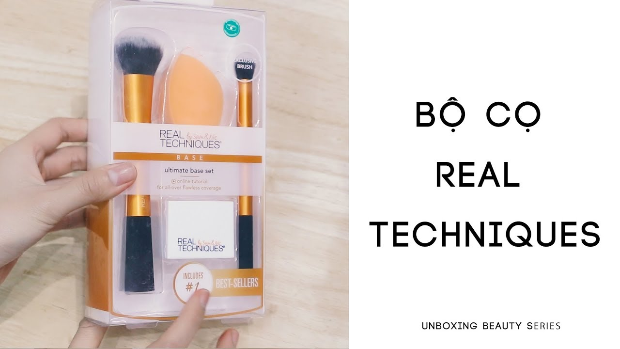 [UNBOXING BEAUTY] MỞ HỘP BỘ CỌ  REAL TECHNIQUES