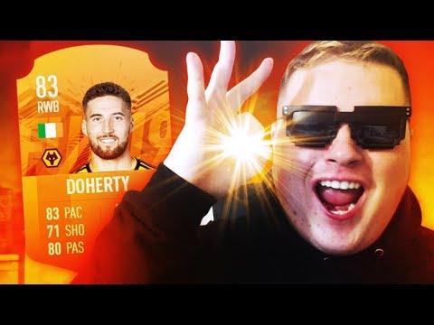 Matt Doherty is the greatest Irish card on FIFA 19...