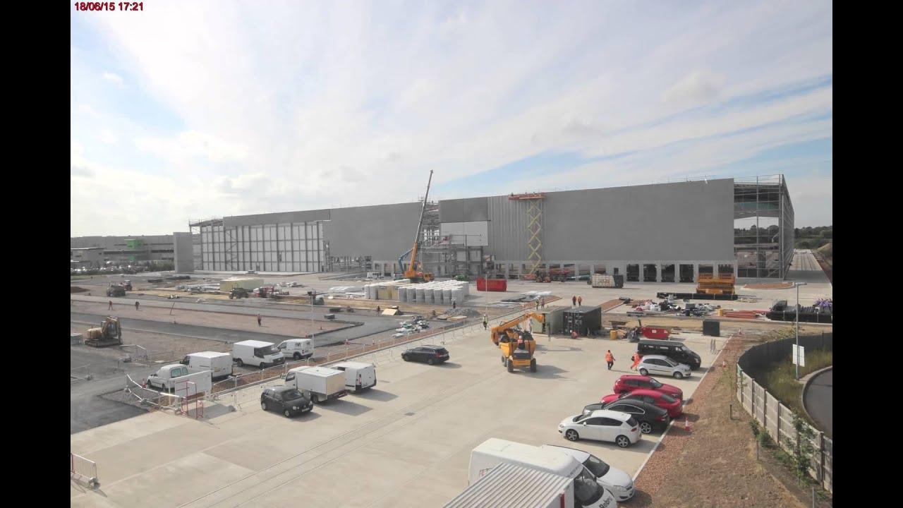 Eurocarparts Distribution Centre Build June 2015 Time Lapse Youtube