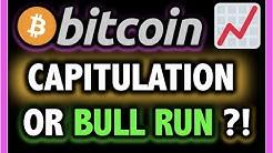 BITCOIN CAPITULATION OR BULL RUN NEXT?!📈 LIVE Crypto Analysis TA & BTC Cryptocurrency Price News Now