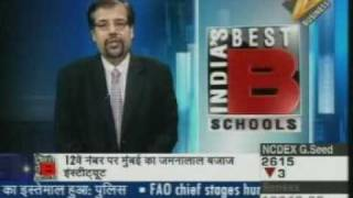 IIPM in Zee Business Best B-School Rankings 2009