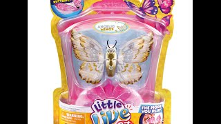 LITTLE ALIVE PET BUTTERFLY WITH ANGELIC WINGS