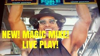NEW!! MAGIC MIKE SLOT MACHINE-LIVE PLAY-BONUS