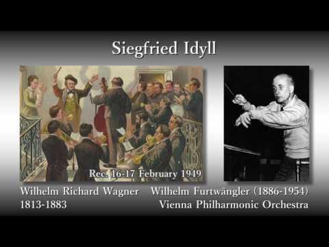 Wagner: Siegfried Idyll, Furtwängler & VPO (1949) ワーグナー ジークフリート牧歌 フルトヴェングラー