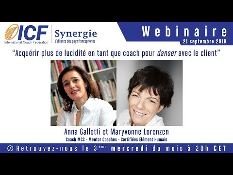 """""""Acquérir plus de lucidité en tant que coach"""" d'Anna Gallotti et Maryvonne Lorenzen - ICF Synergie"""