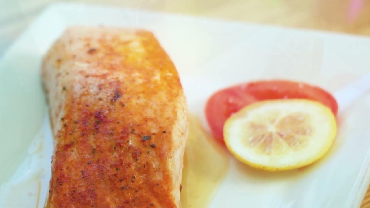 Maria's Mediterranean: Salmon Fillet
