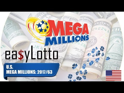 MEGA MILLIONS numbers 8 Aug 2017