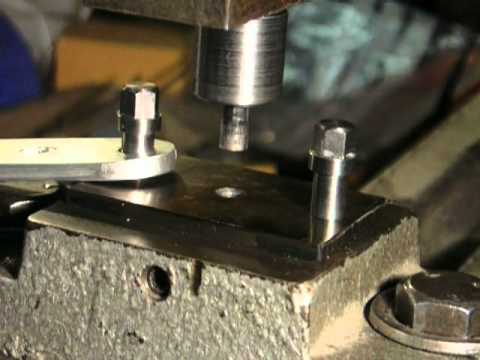 Punch And Die Set For Washers Youtube