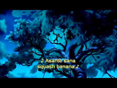 The Lion King - Rafiki's Song