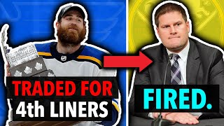 5 NHL Trades That Got A GM FIRED