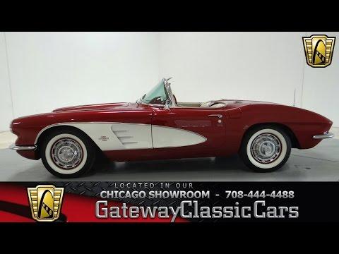 1961 Chevrolet Corvette Gateway Classic Cars Chicago #723