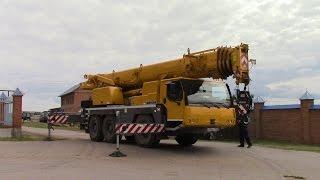 Работа Автокрана Liebherr LTM 1045 3 1 гп 45 т