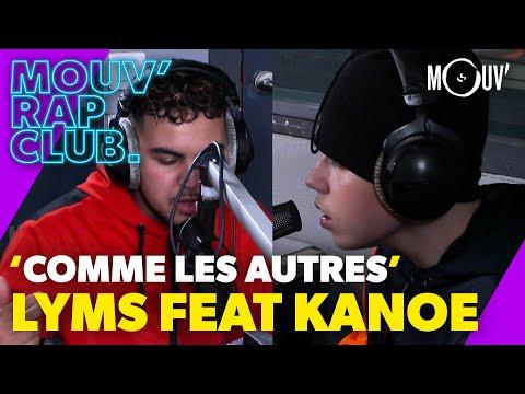 Youtube: LYMS ft. KANOE –«Comme les autres» (Live @Mouv' Rap Club)