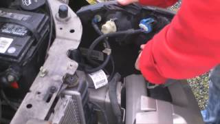 How to change headlights on a Chevy Cavalier 1995 to 2004