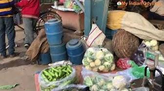 Sabzi Market in Sector 16 Faridabad