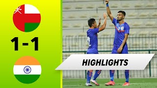 Oman vs India | Friendly | FULL Highlights | 2021