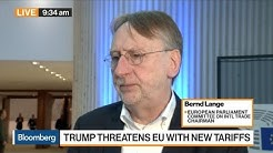 Not Possible to Negotiate With U.S. Under Tariff Threat, Says European Parliament Committee's Lange