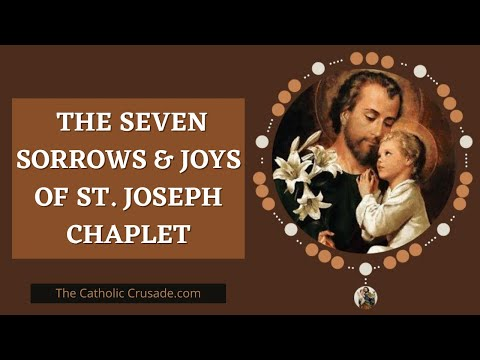 St Joseph | Chaplet of Seven Sorrows & Seven Joys
