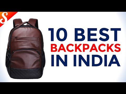 4aaa5ab073a4 10 Best Backpack in India with Price - YouTube