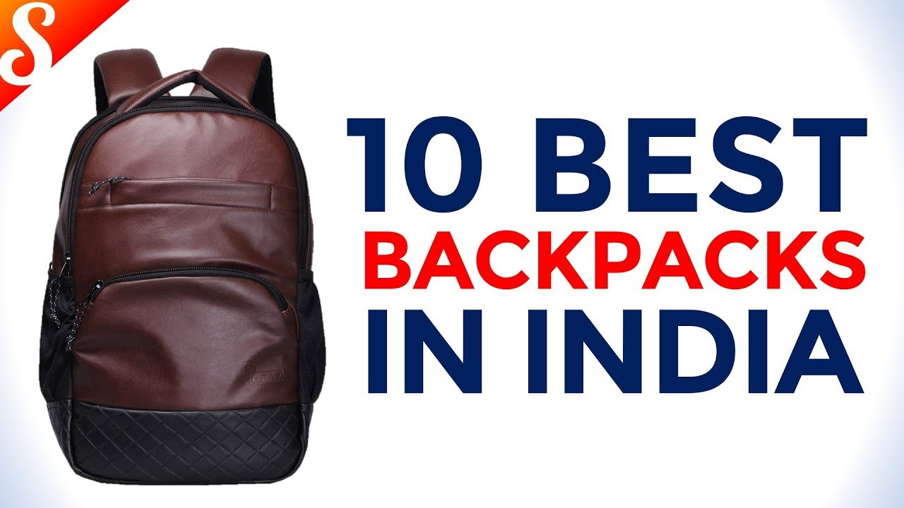 3a0abccb9141 10 Best Backpack in India with Price - YouTube