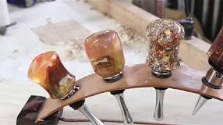 Making a Cast Resin Bottle stopper Mold from PVC---  Sam Angelo
