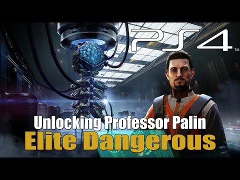 Elite Dangerous - Unlocking Professor Palin / Sirius Permit
