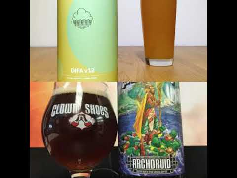 Cloudwater DIPAV12 and Clown Shoes Archdruid ep62