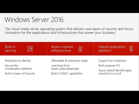 What's new in Windows Server, version 1709 for the software-defined datacenter | BRK2278