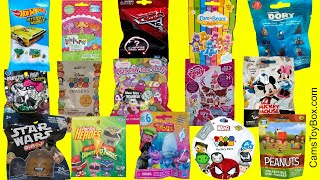 Blind Bags Opening Surprise Toys Disney Finding Dory Mickey Mouse Star Wars Peanuts Cars 3 Trolls