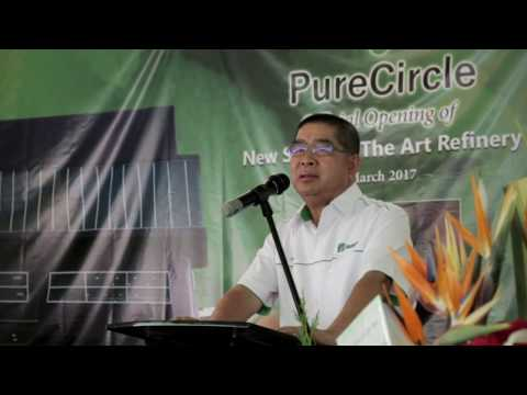 Minister of Energy, Green Technology & Water in Malaysia Congratulates PureCircle