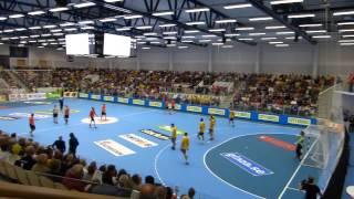 Handboll Sverige-Holland i Estrad Alingsås juni 2013