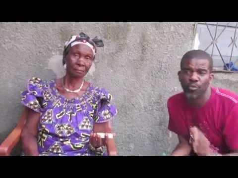 Mampe Kinsona & Mama Emily Ngamukwhuom Sanzay Ngaye in Kinshasa, DR Congo