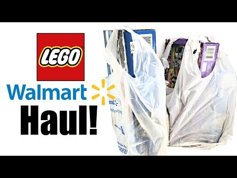 Walmart Clearance LEGO Haul!