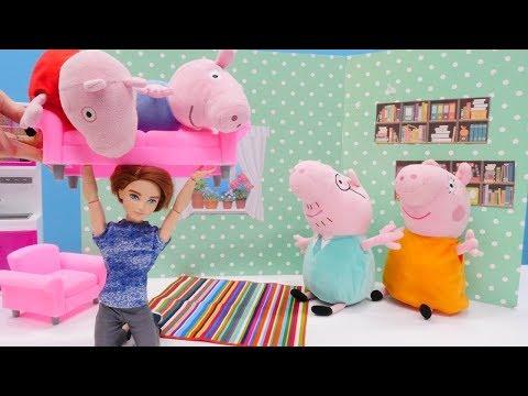 vídeos-de-peppa-pig---mamá-y-papá-buscan-a-la-niñera.