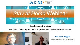In this talk hosted by icrea pro. aitor mugarza, group leader at the icn2, prof. peter bøggild, from technical university of denmark (dtu), talks about o...