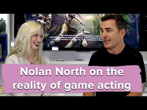 The reality of game acting with Uncharted 4's Nolan North