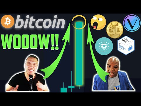 THESE 4 ALTCOINS ABOUT TO GO CRAZY!!! BITCOIN INSANE MOVE! [chainlink, dogecoin, vechain, cardano..]
