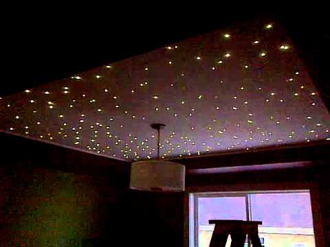 Star ceiling by Howell Electric - YouTube